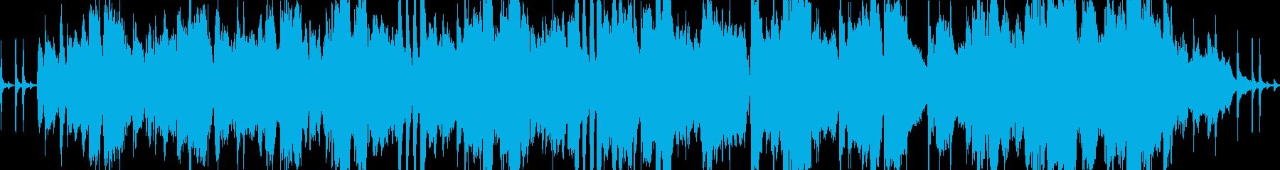バイオリンの癒しクラシック四重奏ループ可の再生済みの波形