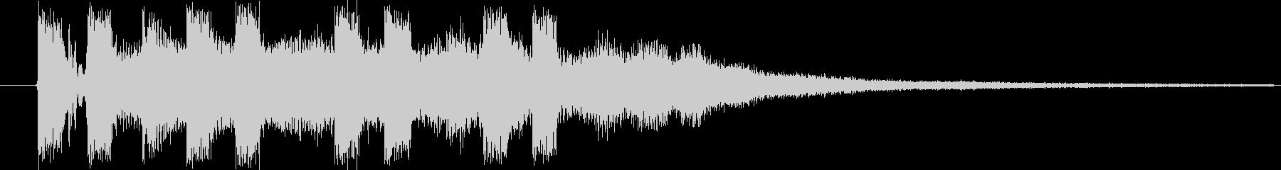 ドミソド(-1):ジングル等にの未再生の波形