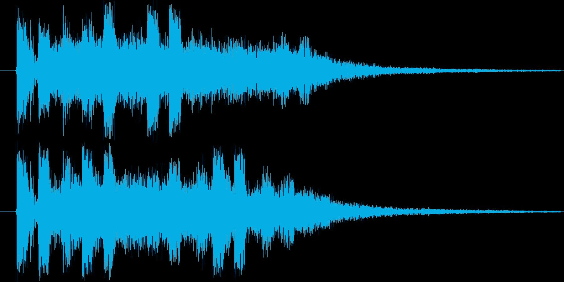 ドミソド(-1):ジングル等にの再生済みの波形
