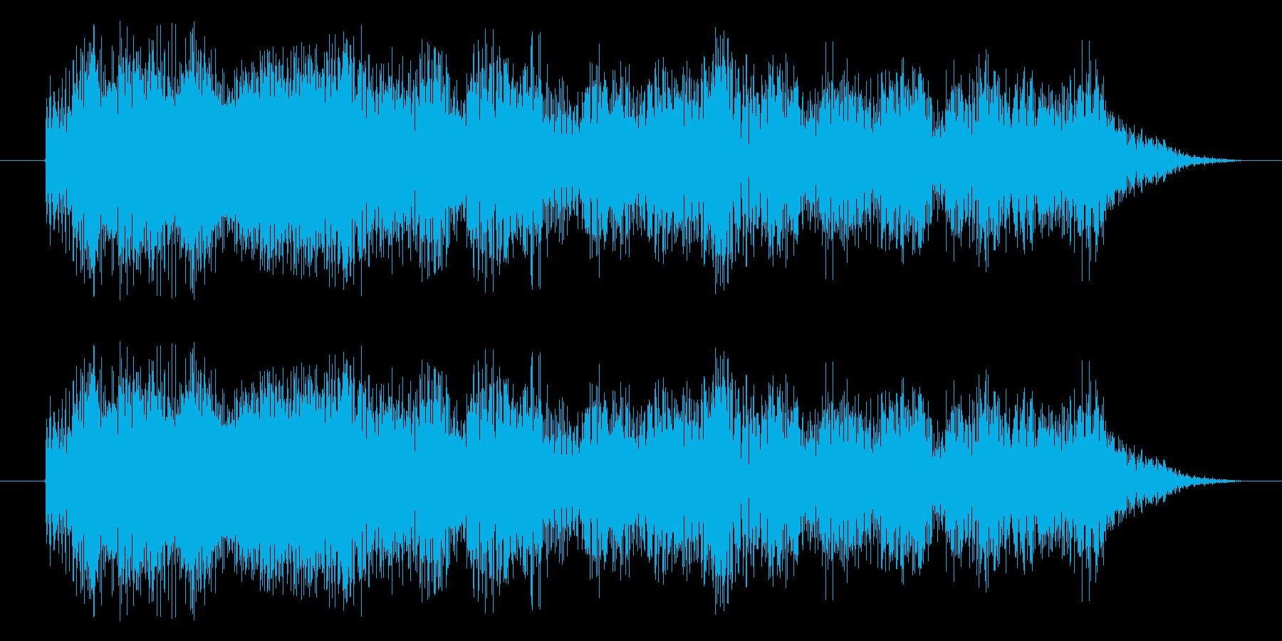 トゥィーォーの再生済みの波形