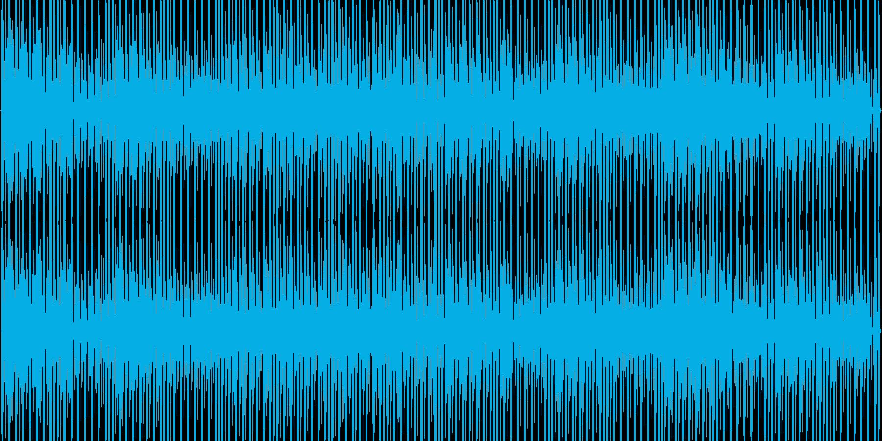 可愛い、ポップな感じのダンスミュージッ…の再生済みの波形