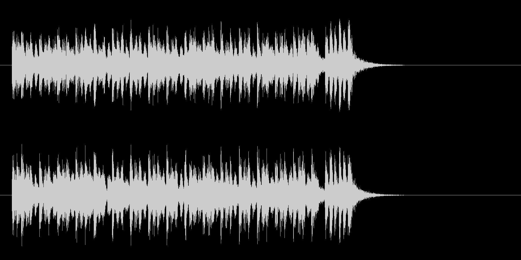 かわいいクラシカルポップ(サビ)の未再生の波形