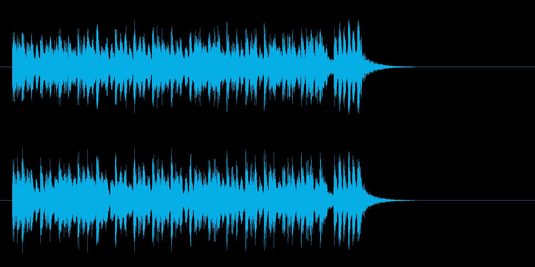かわいいクラシカルポップ(サビ)の再生済みの波形