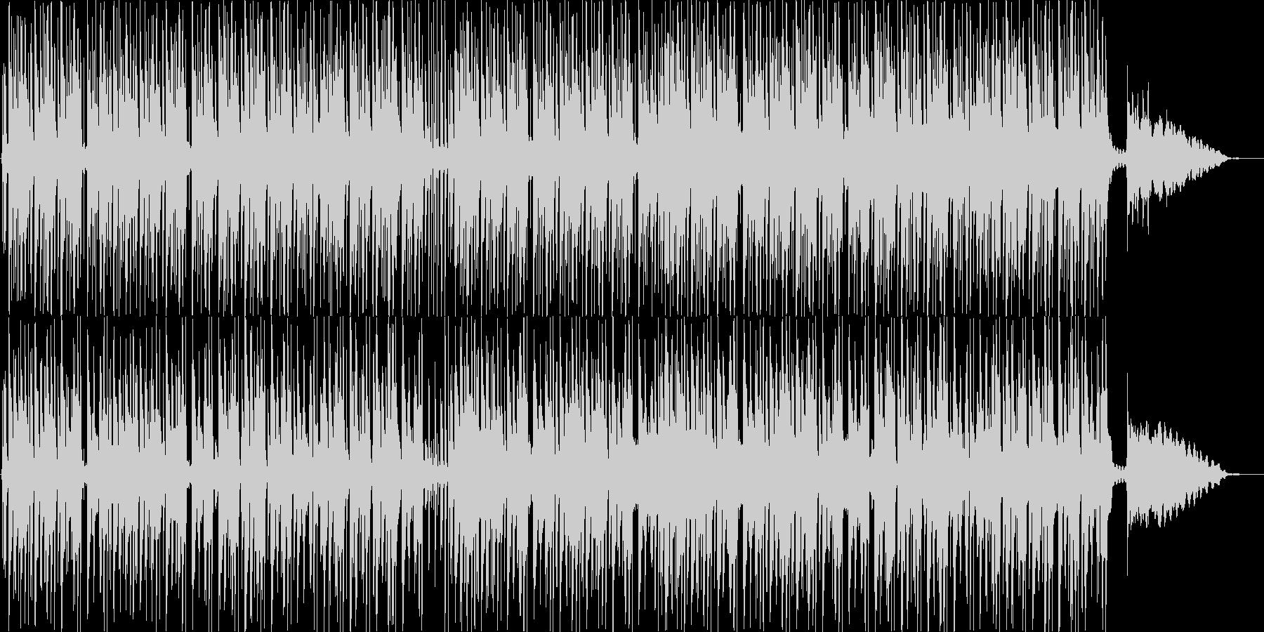 三味線と琴の明るいウキウキする和風BGMの未再生の波形