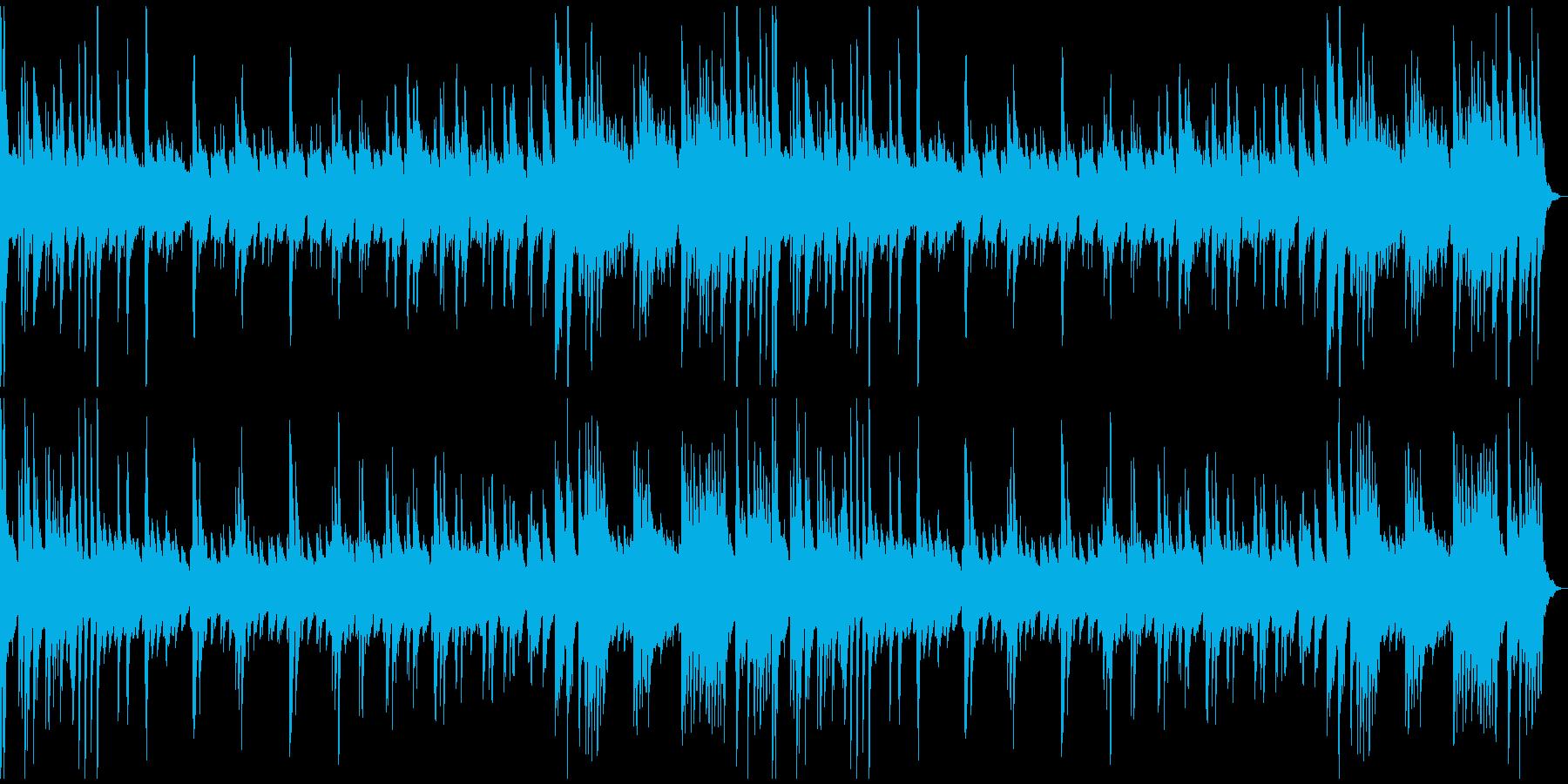 少し悲しげなソロ・ピアノ曲の再生済みの波形
