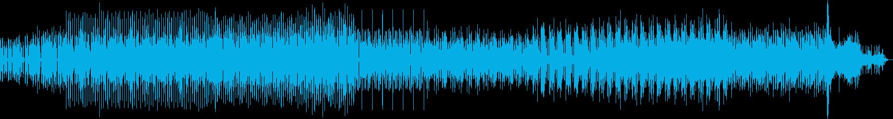 シャキシャキしたテクノ調サウンドの再生済みの波形