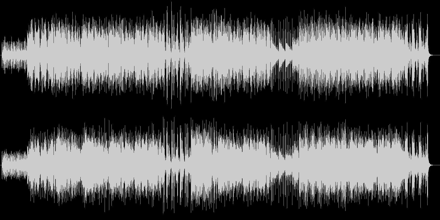 マラカスのリズムの音が効果的なポップ曲の未再生の波形