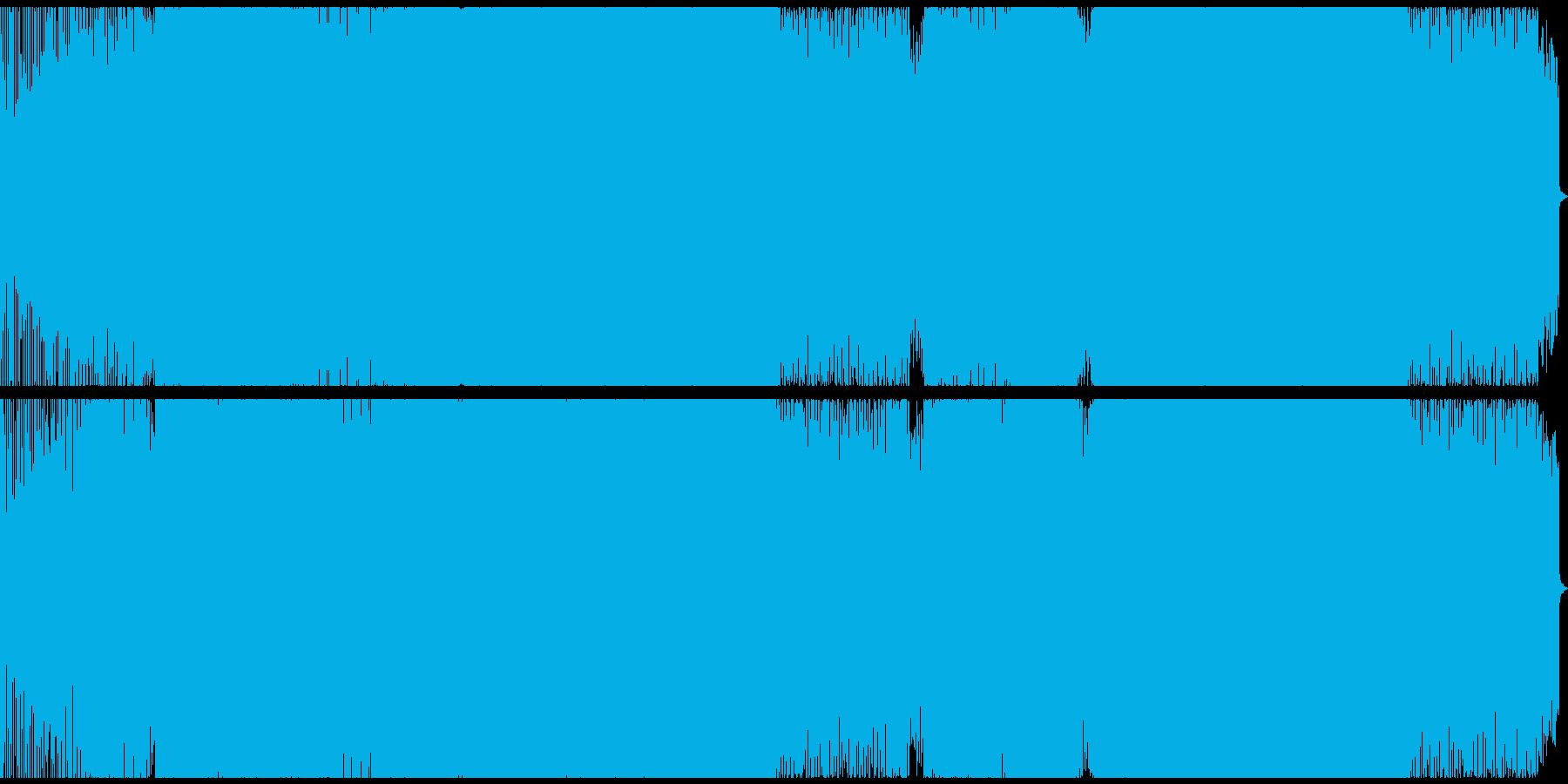 哀愁感が漂うプログレッシブなEDMの再生済みの波形