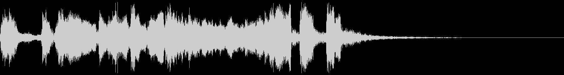 シンプルなファンファーレ3+ハモ+Drの未再生の波形