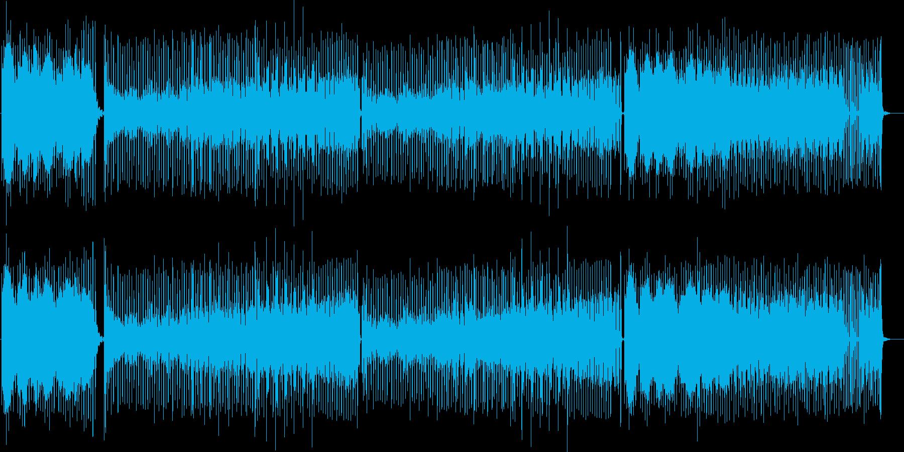 軽快・愉快な、ゲームBGMにも適してい…の再生済みの波形