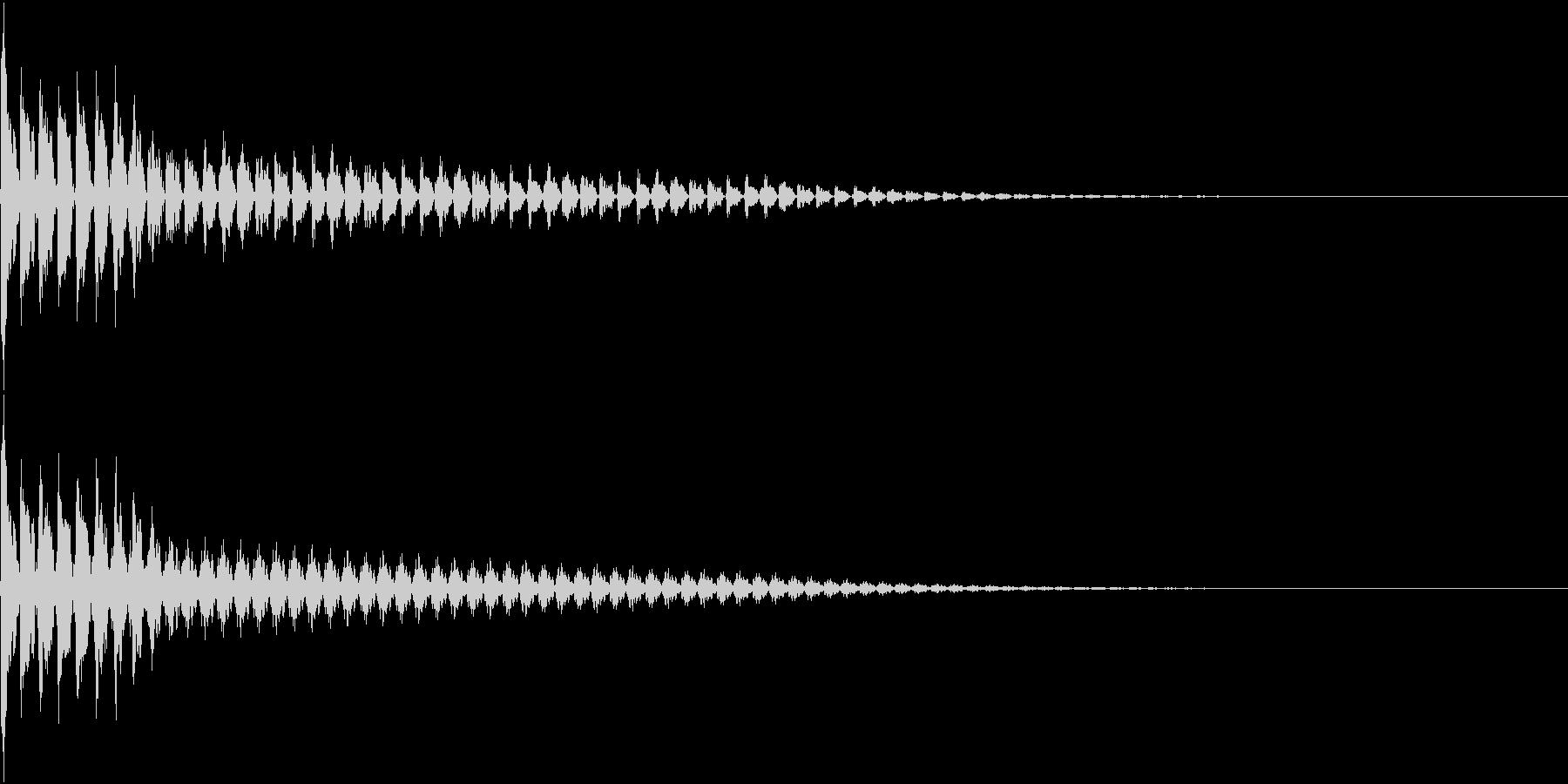 TVFX ビヨーンとヘンテコなSE 3の未再生の波形