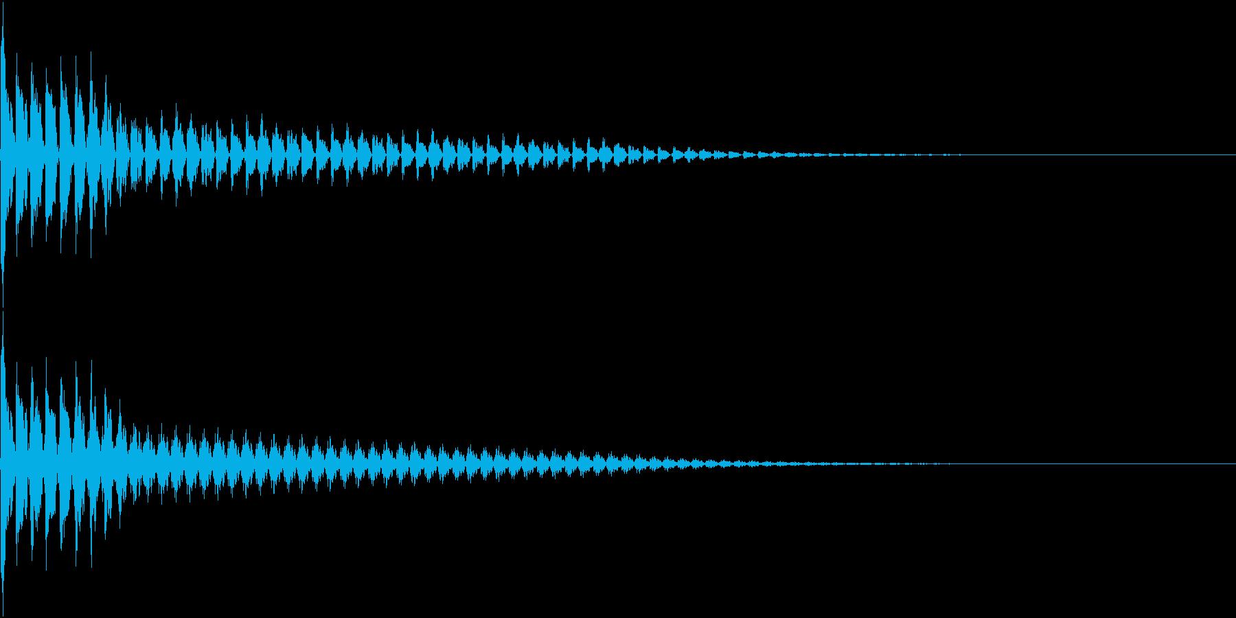 TVFX ビヨーンとヘンテコなSE 3の再生済みの波形