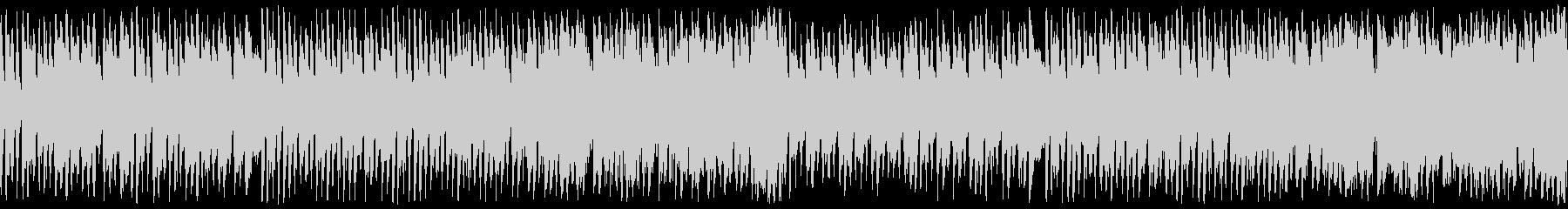 ハロウィン向けポップなホラーループ曲の未再生の波形