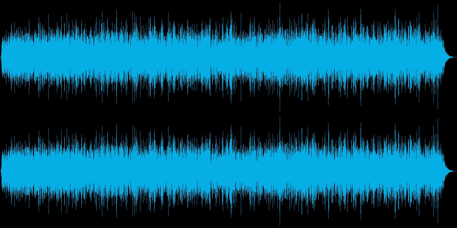 特撮にありそうな光線音の再生済みの波形