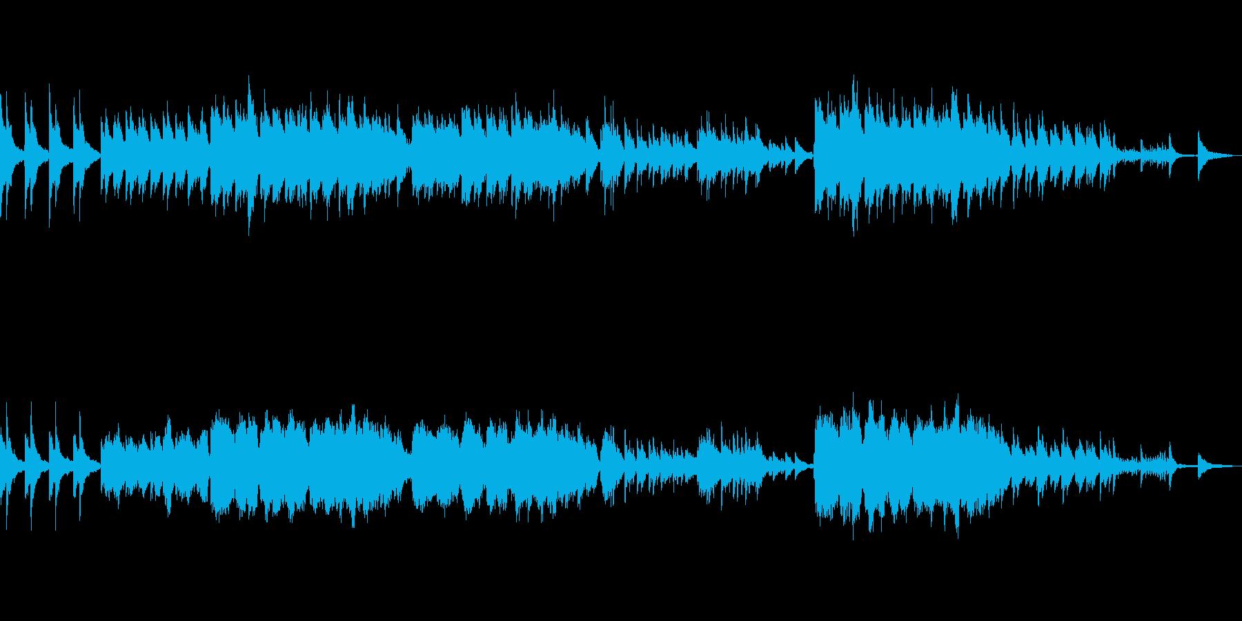 涙が似合うオーボエとピアノの本格的ワルツの再生済みの波形