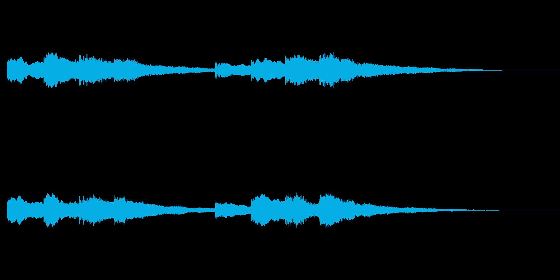 【チャイム 学校02-08】の再生済みの波形