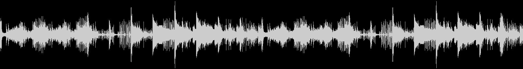ハロウィン・ホラー系楽曲の未再生の波形