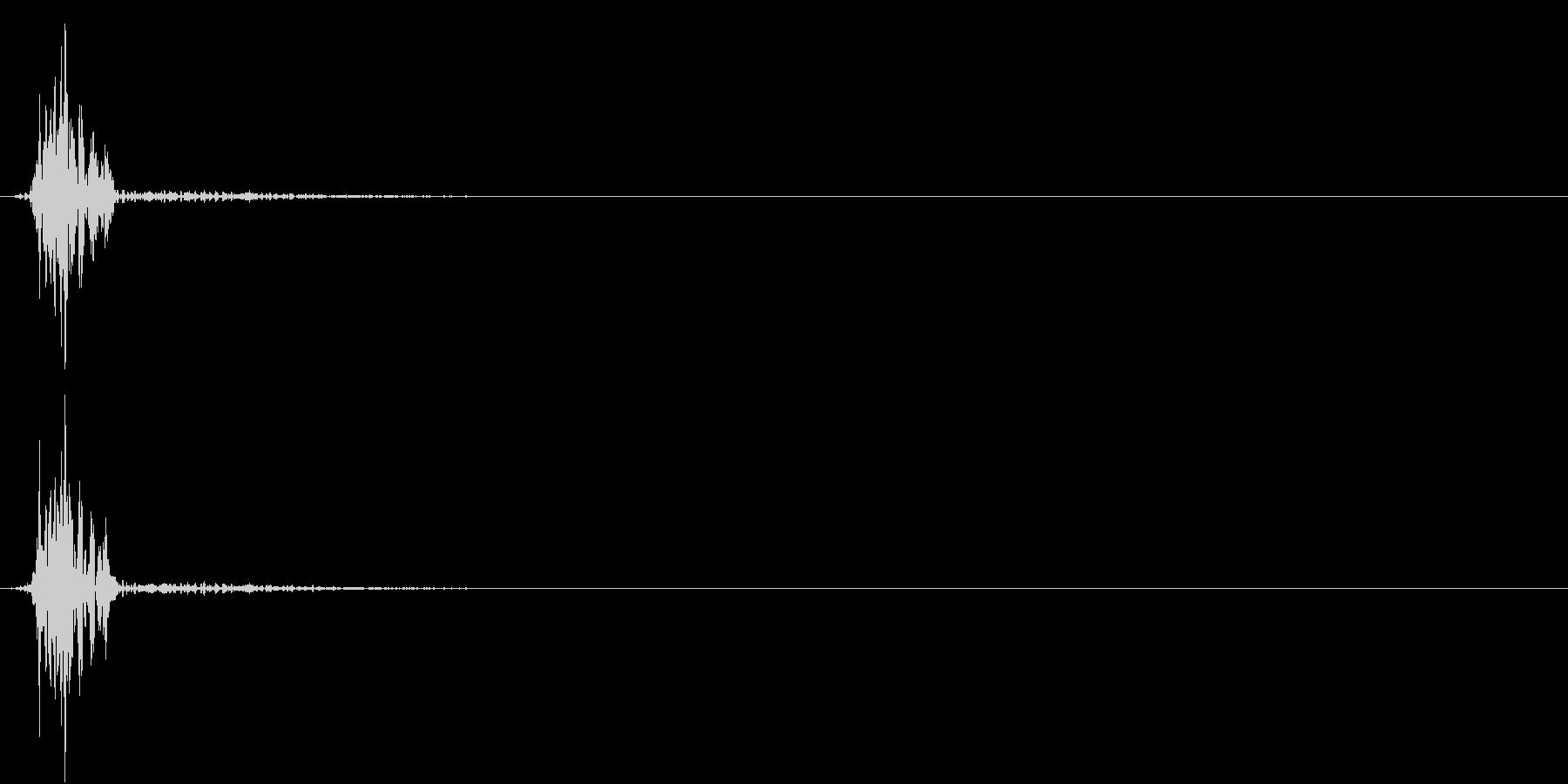 KAKUGE 格闘ゲーム戦闘音 21の未再生の波形