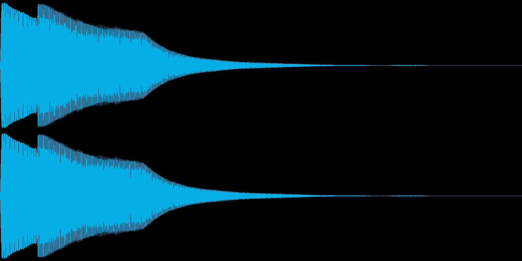 【クイズ】早押しボタン(ピンポーン)の再生済みの波形