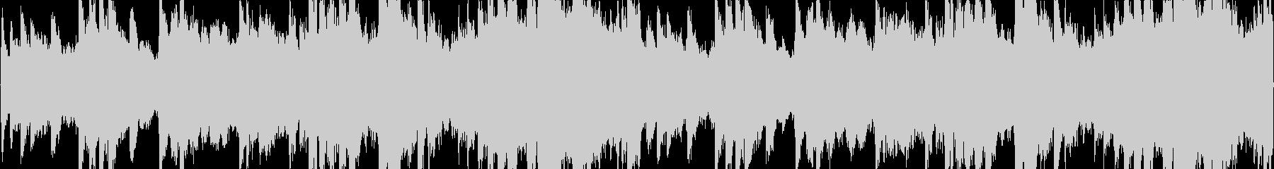 ゆったりとしたヒーリング系ピアノBGMの未再生の波形