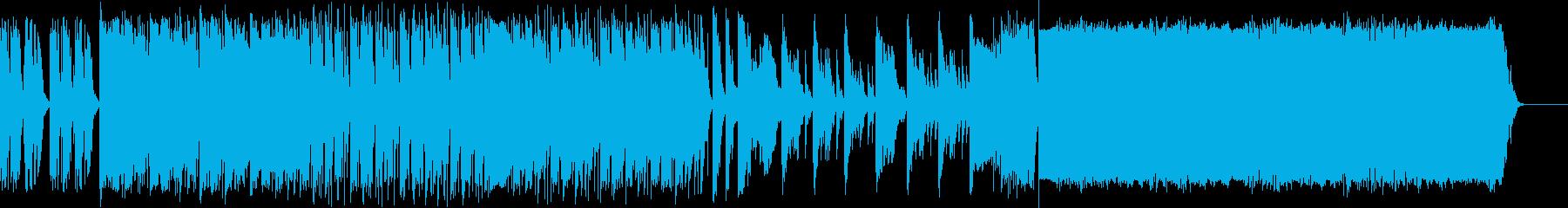 よさこい楽曲風BGM 和風 戦国 2.0の再生済みの波形
