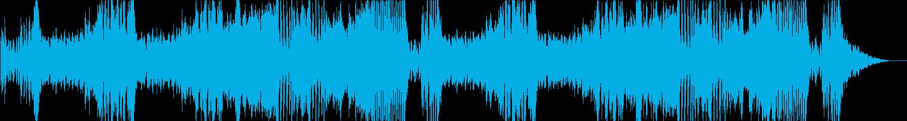オーケストラ戦闘曲の再生済みの波形