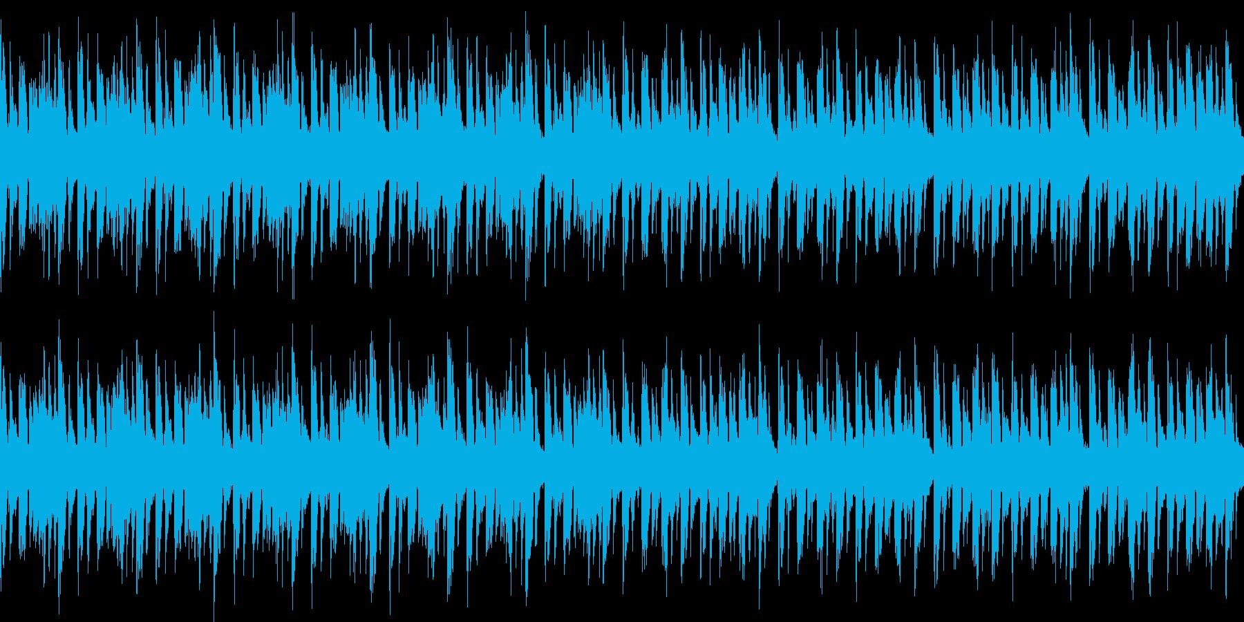キャラ選択、システム画面など(ループ)3の再生済みの波形