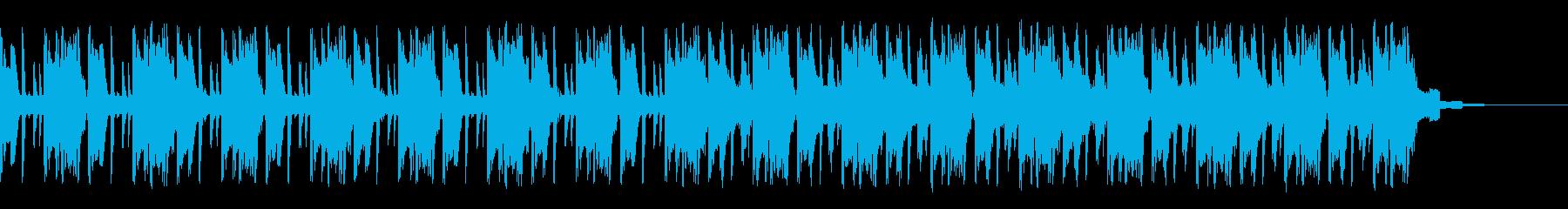 ロボットの世界に壊れたピアノの再生済みの波形