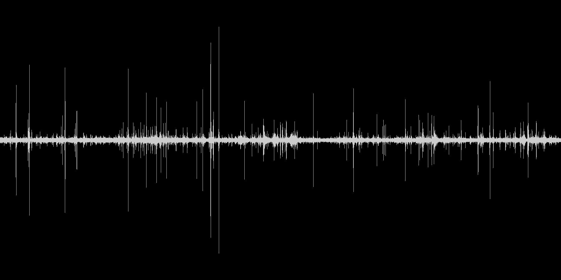 オフィスの雑音(声なし)の未再生の波形