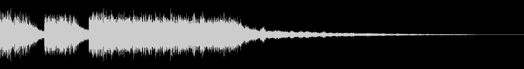 【ロゴ、ジングル】EDM01の未再生の波形