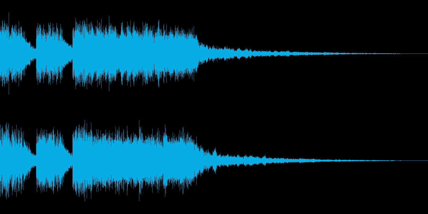 【ロゴ、ジングル】EDM01の再生済みの波形