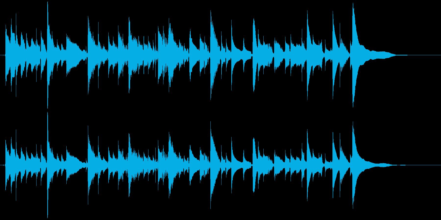 爽やかなアコギのソロ1 【アコギ生演奏】の再生済みの波形