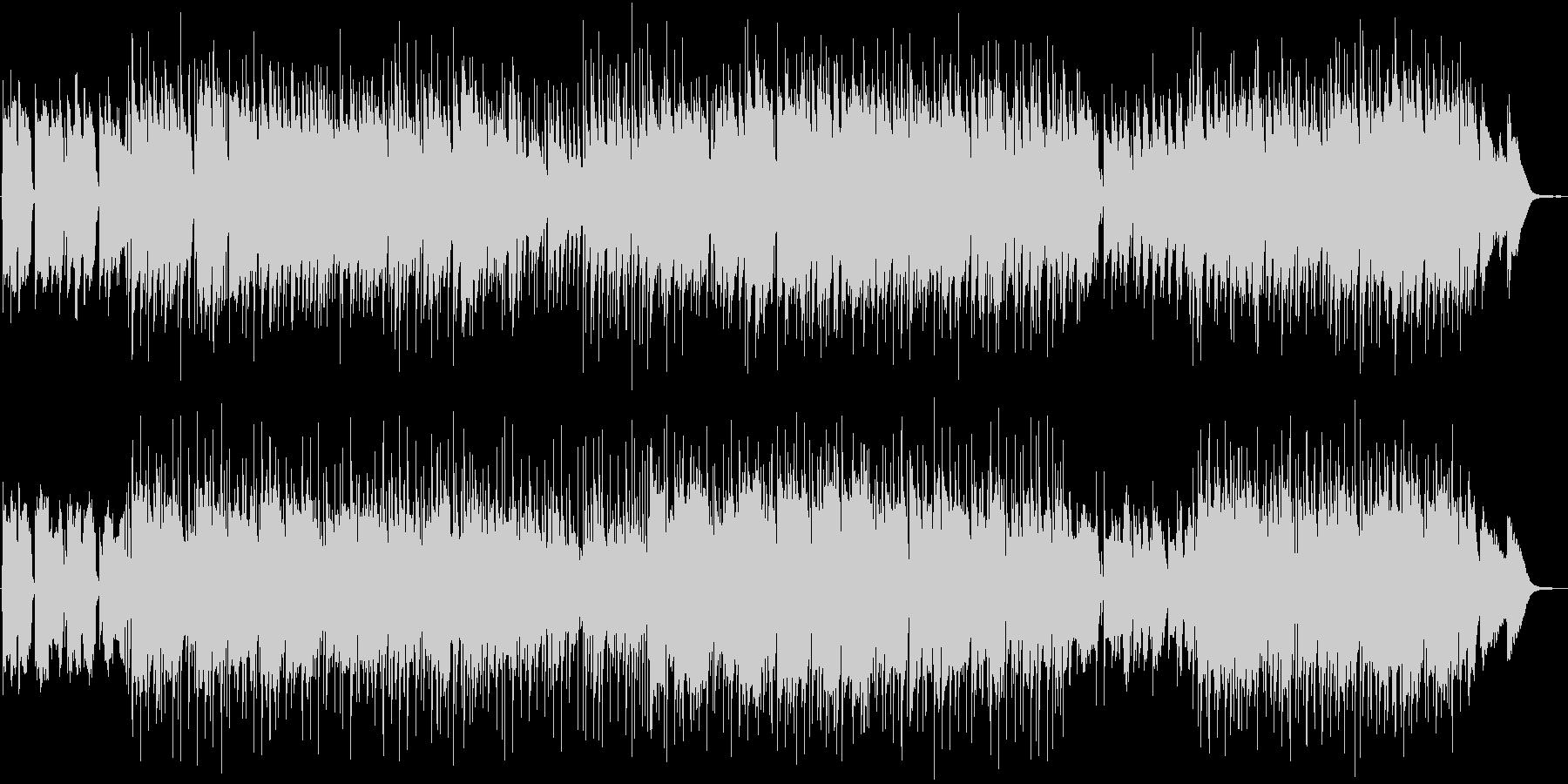 尺八とピアノによるはかない曲の未再生の波形