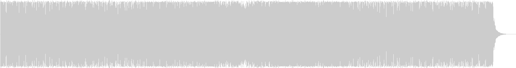 和風インスト4の未再生の波形