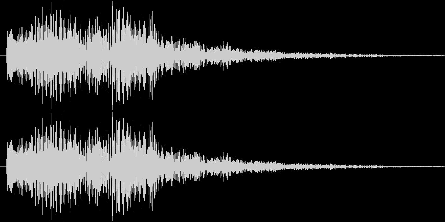 サウンドロゴ6の未再生の波形
