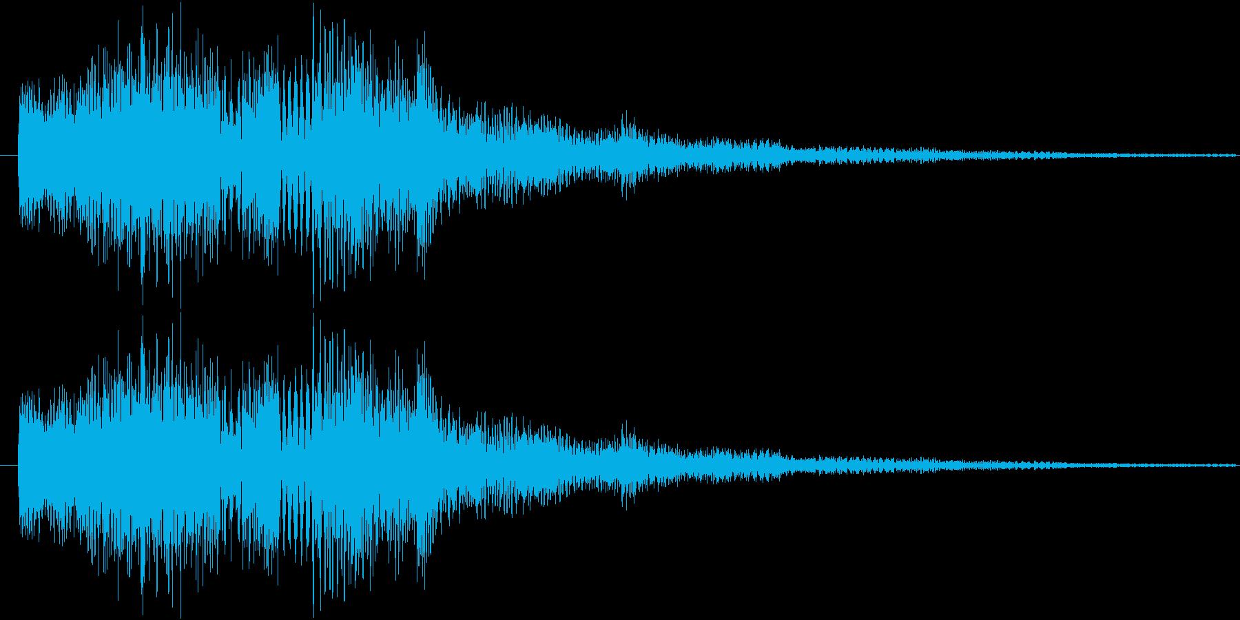 サウンドロゴ6の再生済みの波形