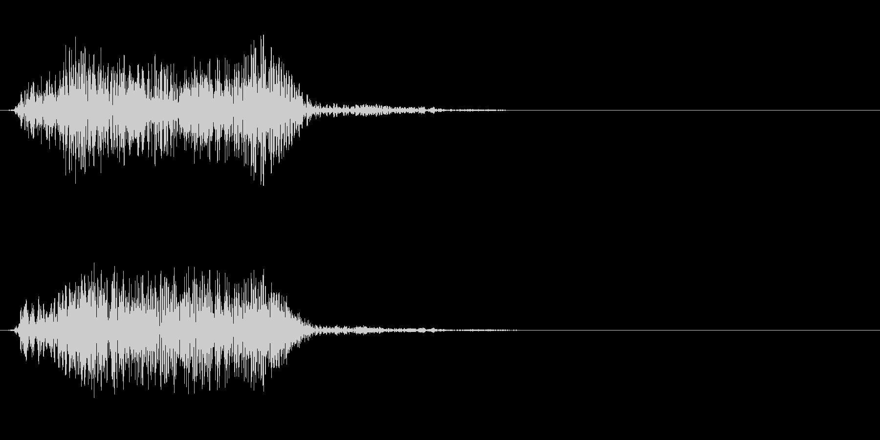 SFでの移動系効果音(ワープなどに)の未再生の波形