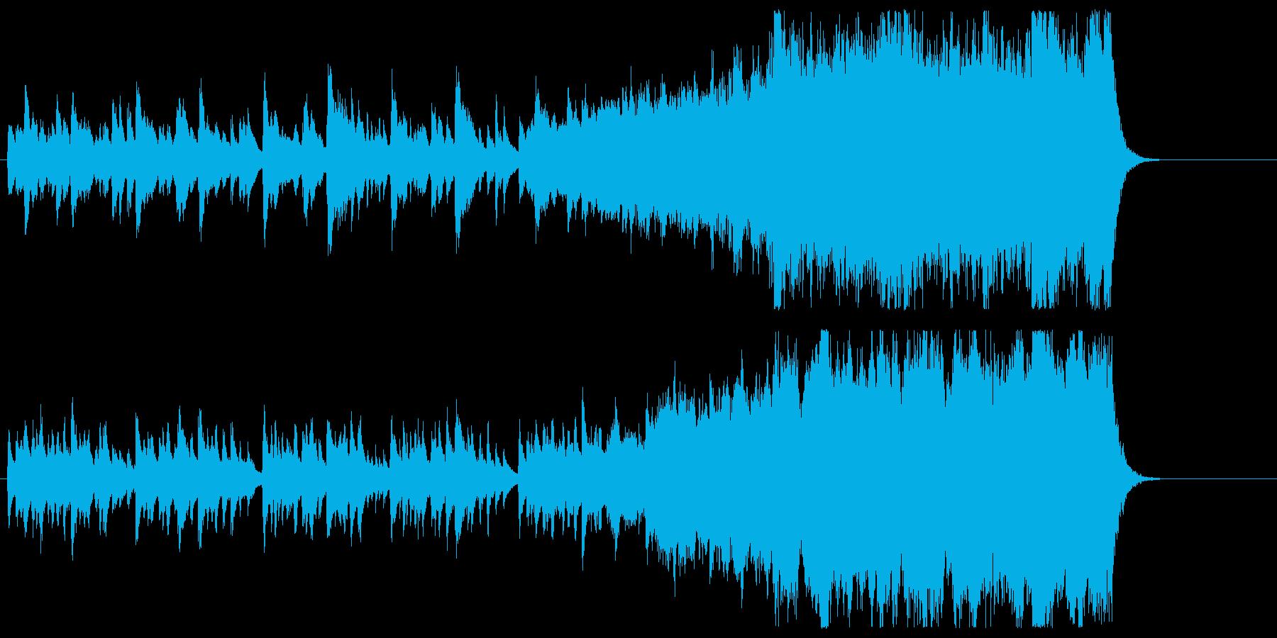 オケ&和楽器・和風。映像やゲームBGM等の再生済みの波形