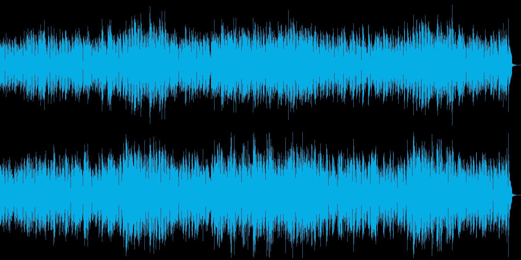怪しげなジャズの再生済みの波形