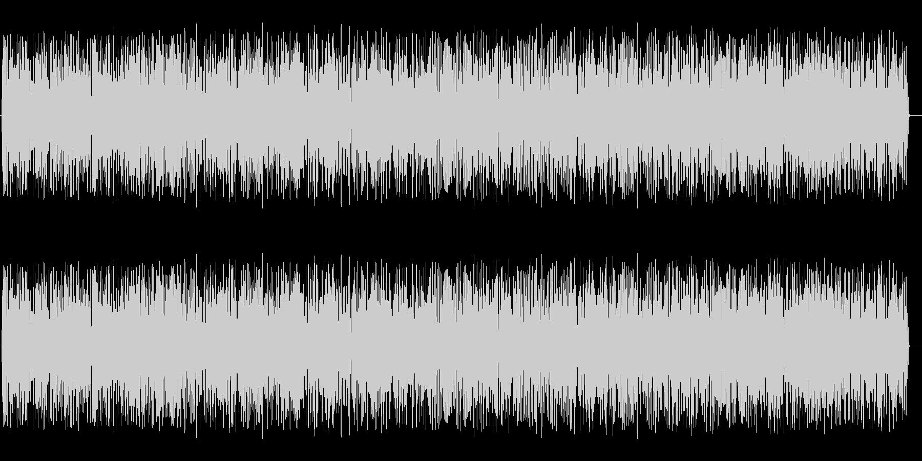 ゴォォー(ノイズ音)の未再生の波形