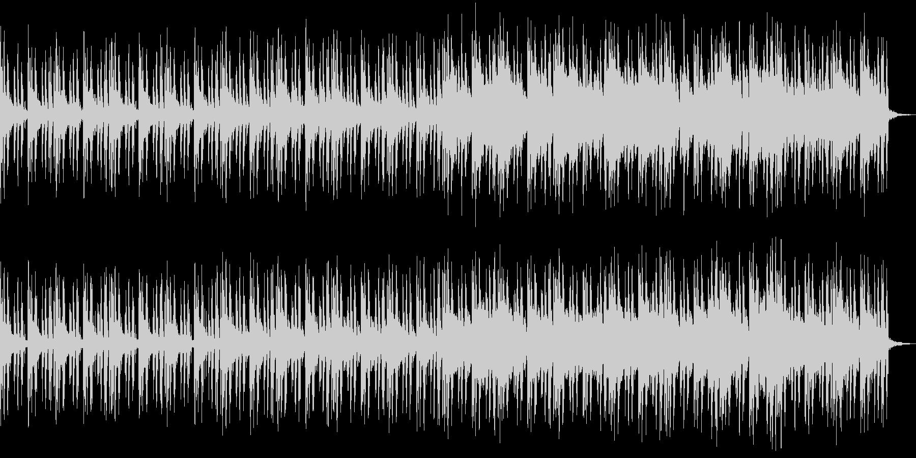 森林のBGMの未再生の波形