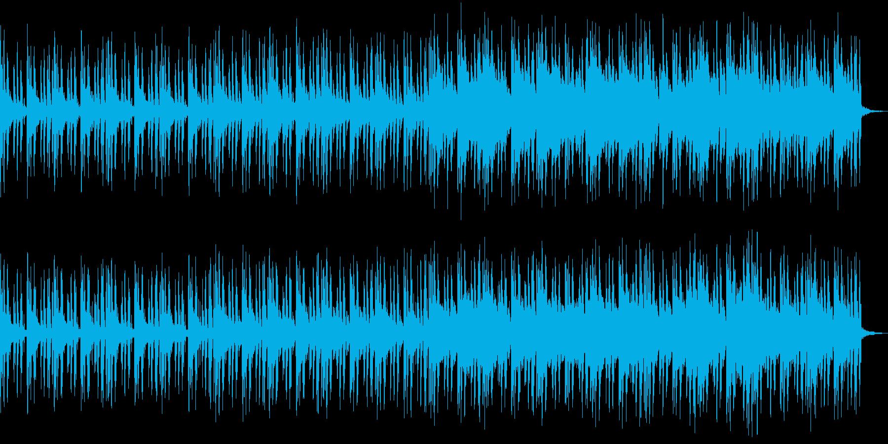 森林のBGMの再生済みの波形