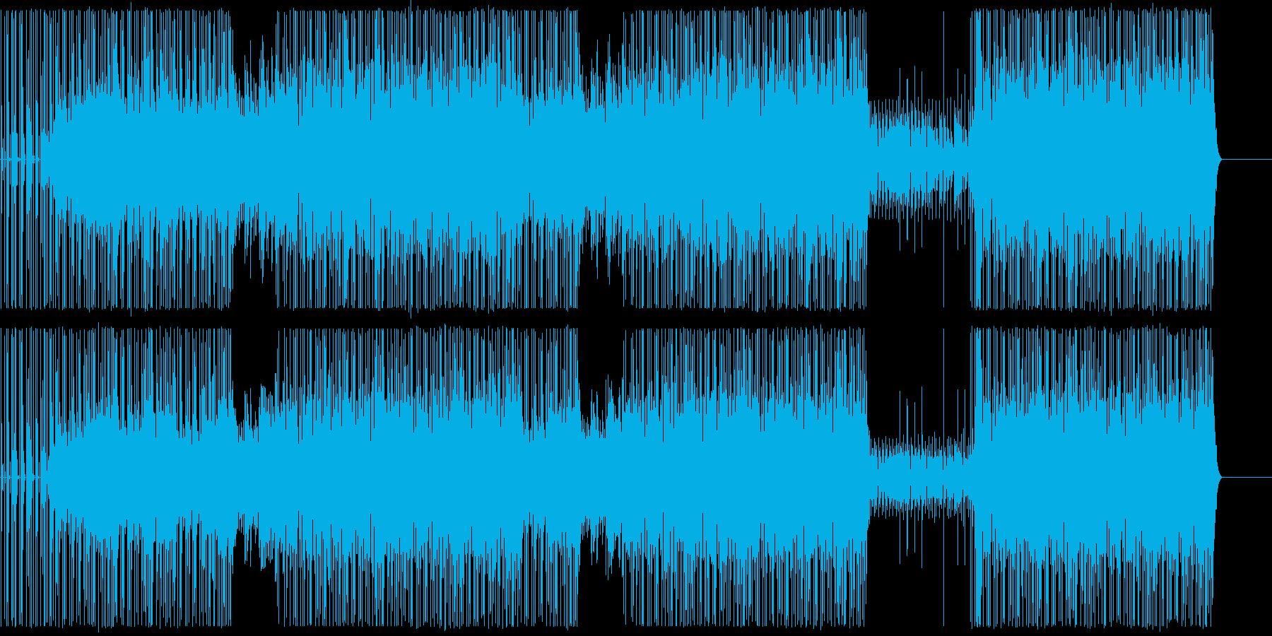 ピアノヒップホップ/ダーク/ビート/#2の再生済みの波形