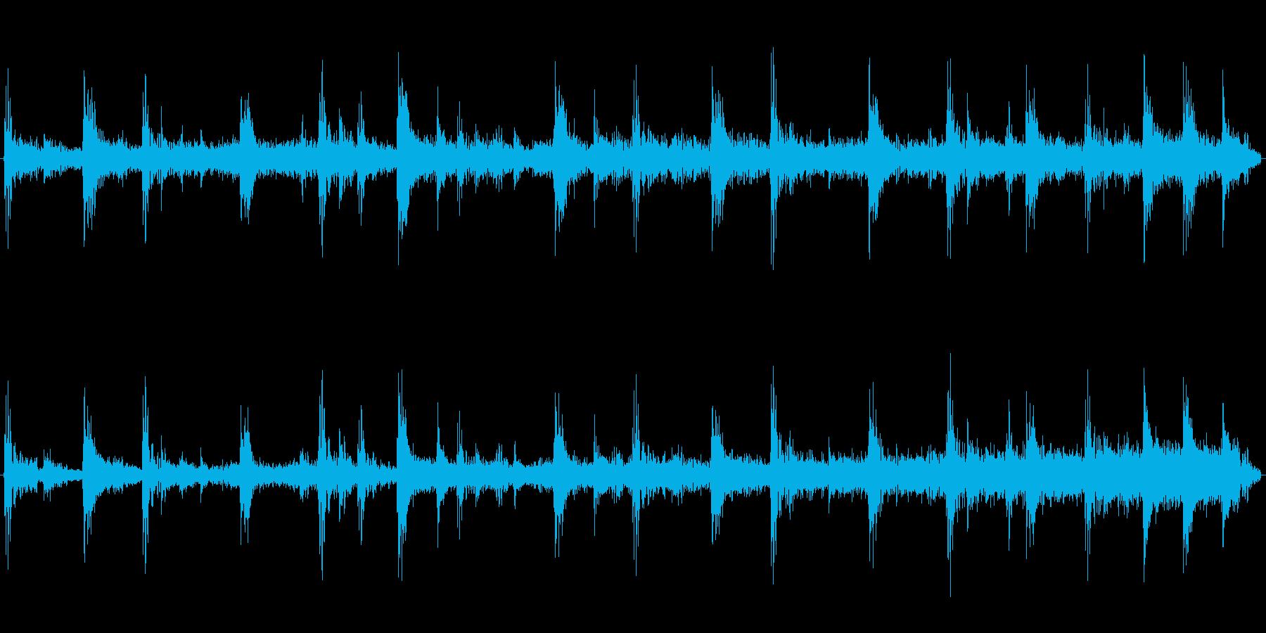 ロックジングル/ギター無し/場面移行時にの再生済みの波形