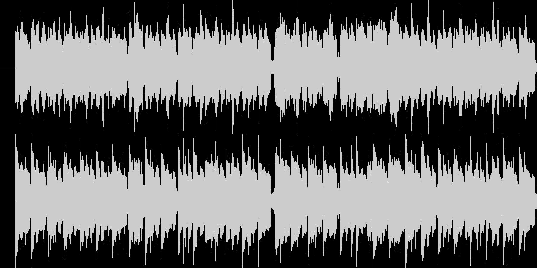 とあるゲームコンペで採用されなかった曲…の未再生の波形
