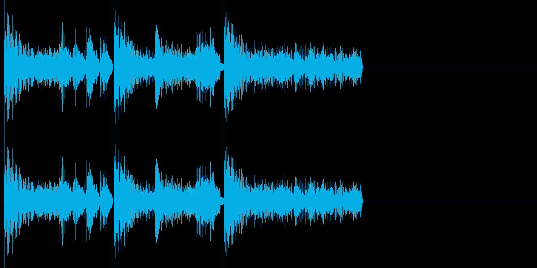 レトロゲーム風・ゲームオーバー#3の再生済みの波形