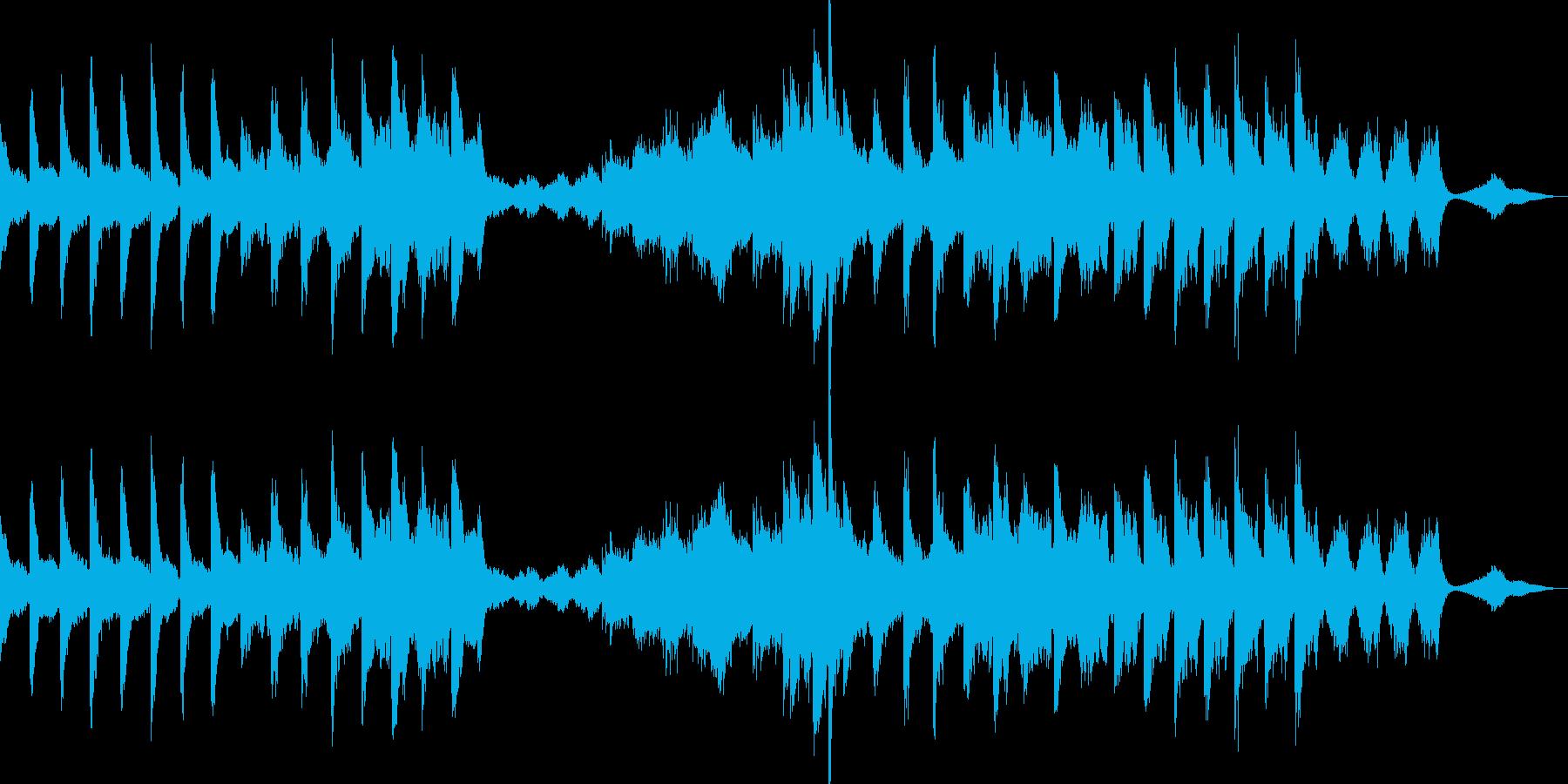 シンセサイザーとノイズで作る壮大な海の再生済みの波形