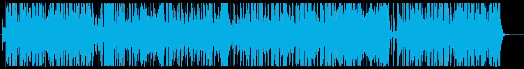 歌って踊って、はしゃぎ回れる1曲の再生済みの波形
