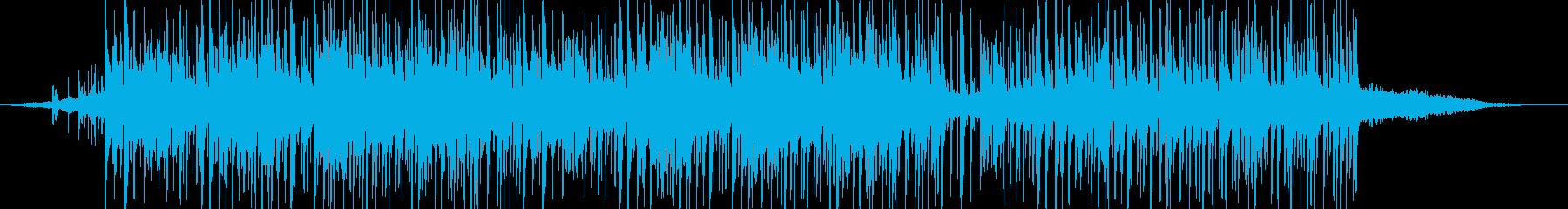 緊迫感のあるエレクトロニカ(ショート版)の再生済みの波形