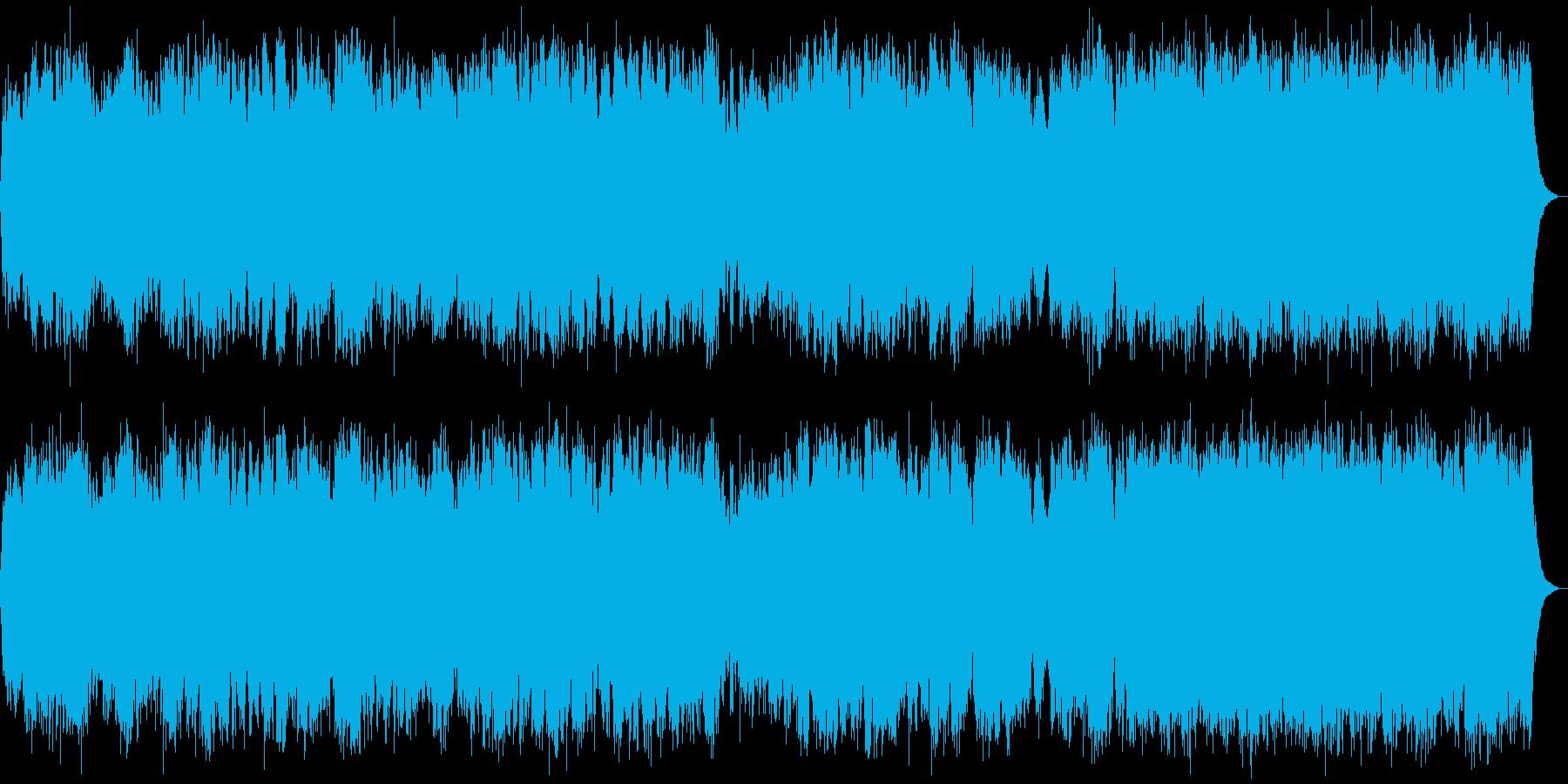 昭和の教育科学番組に流れてるアンビエントの再生済みの波形